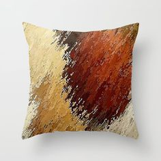 Tumbleweed Throw Pillow by Fringeman - Cover x with pillow insert - Indoor Pillow Throw Cushions, Couch Pillows, Designer Throw Pillows, Down Pillows, Accent Pillows, Fluffy Pillows, Pillow Inserts, Decorative Pillows, Poplin Fabric