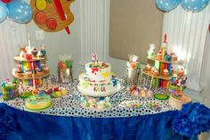 Paint Theme Party by wwwdivineoneevents.com
