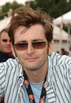 PHOTO OF THE DAY - 14th February 2015:   David Tennant at the V Festival - 2006