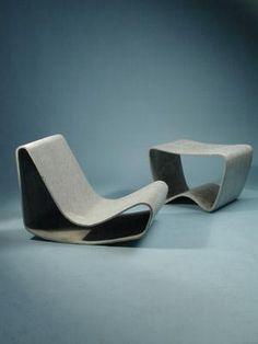 Eternit Chair by Willy Guhl