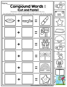 compound word crossword puzzle tons of printables to keep children engaged and having fun. Black Bedroom Furniture Sets. Home Design Ideas
