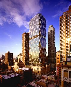 NYC City Buildings #Foster #Norman Pinned by www.modlar.com