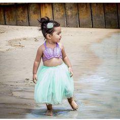Mermaid Tutu Outfit Mermaid Tutu Set Mermaid Birthday Outfit
