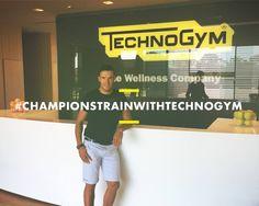 Ski champion Christof Innerhofer visits the Technogym Village for yet another wellness experience. #itrainwithtechnogym #championstrainwithtechnogym