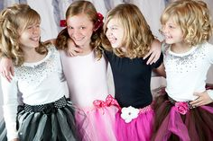 Birthday Party Tutu Pack - great for slumber parties!