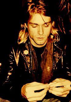 """John Lennon has been my idol all my life, but he's dead wrong about revolution… Kurt Cobain Quotes, Nirvana Kurt Cobain, Dave Grohl, Frances Bean Cobain, Music Love, Music Is Life, Banda Nirvana, Pat Smear, Donald Cobain"
