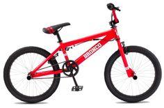 "SE Freestyle Bronco Adult BMX Bike Red 20"""