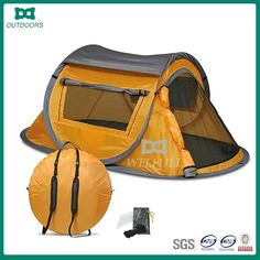 Source One touch easy setup auto pop up camping tent on m.alibaba.com