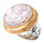 Ancient Babylonian Coin Ring
