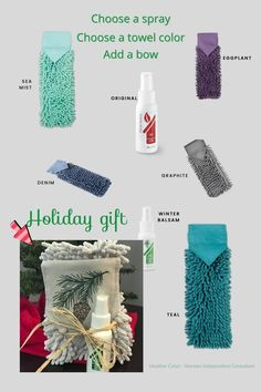 Putting together a simple Norwex Gift anyone would love is as easy as choosing the Norwex Chenille Hand Towel color and choosing the Norwex Toilet Spray scent, original or Winter Balsam. No more smelly bathrooms and no more smelly towels in a lump on the floor. #NorwexChenille HandTowel #NorwexToiletSpray #NorwexHolidayGiftIdeas Laundry Supplies, Kitchen Supplies, Smelly Bathroom, Smelly Towels, Holiday Gifts, Christmas Gifts, Toilet Spray, Chemical Free Cleaning, House Cleaning Tips