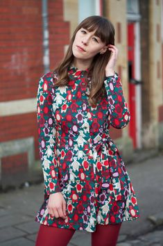 I love quirky seventies prints - this teddy bear print dress is incredible | www.fashionetmoi.com