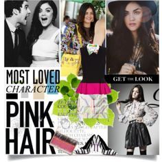 get the look Aria Montgomery