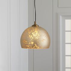 Maude pendant lamp - Crate and Barrel