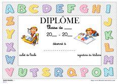 Librairie-Interactive - Diplômes scolaires en couleur Bon Point, Teaching French, Preschool Activities, Graduation, Bullet Journal, Education, Decoration, Photos, Kindergarten Graduation