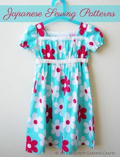 Lollipop Garden Crafts: Smock Dress For A Little Scholar