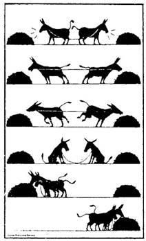 [More of a Visual of Wisdom] Stubborn mules eventually learning & succeeding in cooperation. Oh Captain My Captain, Visual Thinking, Satirical Illustrations, Meaningful Pictures, Servant Leadership, Deep Art, Technical Writing, Classroom Behavior, Classroom Management