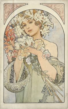 """I talked about buying some nice Mucha prints. My father is a fine art restorer. He told me, """"Hmph. Mucha? Sick of him. He's great in the beginning, but eventually, it's like, 'WHY Mucha prints'? Go make some art. Try something new, new art. Art should change. Art changes, art moves!"""""""