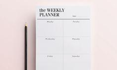 Weekly Planner on CosmisFox