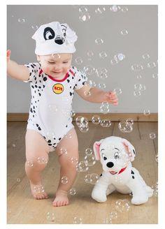 194fc5d8e7c 101 Dalmatian Patch Bodysuit And Hat By Disney Baby