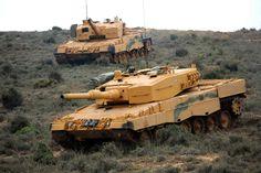 Desert camo with turkish leopard2a4 tanks in syria afrin - operation olive branch  Çöl kamuflajlı leopard2a4 tankları suriye afrin - zeytin dalı harekatı