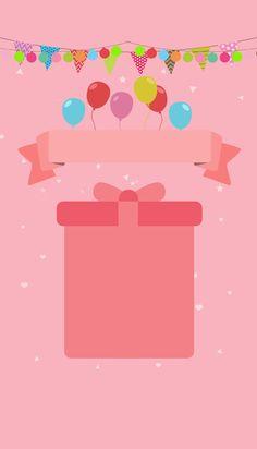 핑크 생일 큰 팩 포스터 배경 Happy Birthday Template, Happy Birthday Frame, Happy Birthday Wallpaper, Birthday Frames, Birthday Cards, Flower Background Images, Cartoon Background, Valentines Day Greetings, Birthday Greetings