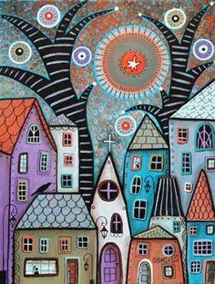 Artifact Puzzles - Karla Gerard Dusk Wooden Jigsaw Puzzle