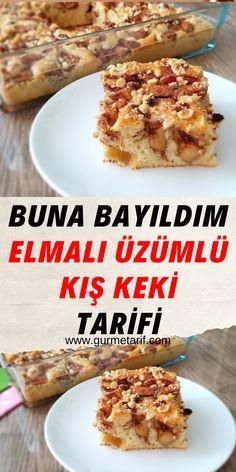 Cake Recipes, Snack Recipes, Snacks, Pasta, Turkish Recipes, Food Art, Tiramisu, Yogurt, French Toast