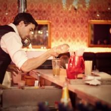 A careful bartender