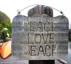 Peace Love Beach