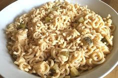 Dänischer Nudelsalat Spaghetti, Macaroni And Cheese, Ethnic Recipes, Food, Party, Noodle Salads, Food Portions, Food And Drinks, Koken