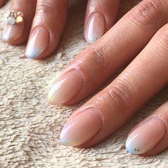 . Airbrush gradation ♡ . ABGEL base coat semihardTOP 3D nail art TIARA96 . . #nail #nails #nailsalonf #nailartist #fumi #japan #tokyo #ebisu #ネイル #ネイルサロンF #plusone #onecolor #tokyonailstyle #DOUBLE180from3DNAILARTTrainingProgramトップインストラクター #ABconcierge