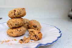 Oat and Raisin Cashew Cookies