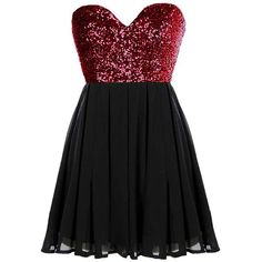 Glitter Fever Dress ($80) ❤ liked on Polyvore featuring dresses, vestidos, short dresses, robe, sequin cocktail dresses, short red cocktail dress, red cocktail dress, red a line dress and short red dress