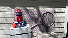 "Photo 6 of 19: Nautical, Red, Dark Blue & Light Blue Baby Shower / Baby Shower/Sip & See ""Ahoy! It's a Boy!"" 
