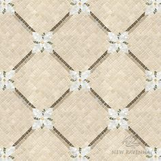Flower Lattice | New Ravenna Mosaics