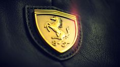 Ferrari Emblem White 1080p HD Wallpaper Car