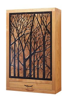 Marquetry Patter Jewelry Cabinet - Readers Gallery - Fine Woodworking