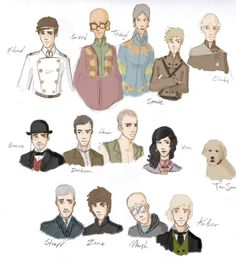 Mistborn characters! I love Spook!!!
