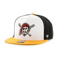 78a54c3f25e Pittsburgh Pirates Amble Captain Gold 47 Brand Adjustable Hat