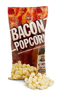 J&D's Original Bacon Flavored Popcorn
