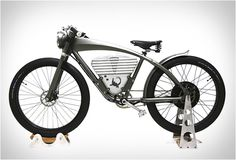 ICON E-FLYER ELECTRIC BIKE | Image. It's an electric motorcycle...what do they bother putting pedals of these things?
