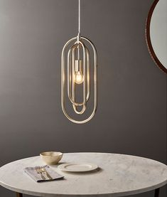A bright antique silver leaf pendant with interlocking elongated ovals. With 2 metre flex - perfect. Leaf Pendant, Antique Silver, Chandelier, Pendants, Ceiling Lighting, Antiques, Modern, Bright, Home Decor
