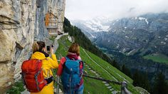 Travelers and tourists are always busy to find the most beautiful places of the world and the most charming sights. If you are one of these people, Aescher Hotel of Switzerland is beckoning you to show the beauty of it and its surroundings. Switzerland Tourism, Switzerland Hotels, Hotel Secrets, Impressive Image, World Pictures, Cheap Hotels, Cheap Travel, Luxury Travel, Travel Style