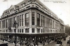 Bourne & Hollingsworth, Oxford Street, closed in 1983 (1964/1965)