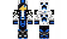 minecraft skin BlueHoodieBoy
