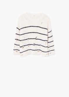 Jersey algodón rotos