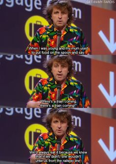 Mock the Week. Just brilliant, as is the hilarious Milton.