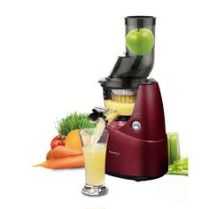Kuvings Whole Slow Juicer B6000PR - The world's first WIDE MOUTH slow juicer!