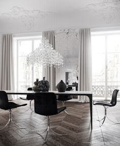 Parisian apartment by Jessica Vedel - via Coco Lapine Design