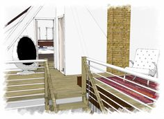 sketch interior design - rolf pauw